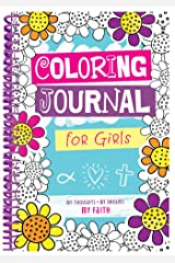 Coloring Journal for Girls Spiral-bound
