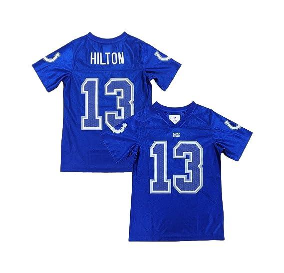 best website ea008 c8b1a Amazon.com: T. Y. Hilton Indianapolis Colts #13 Blue Dazzle ...