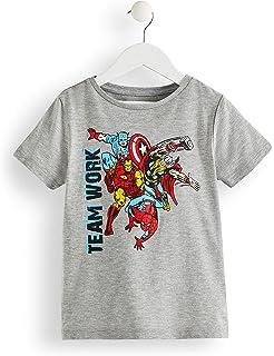 22-1960 Camiseta de algodón para niño motivo THE AVENGERS de 6 a ...