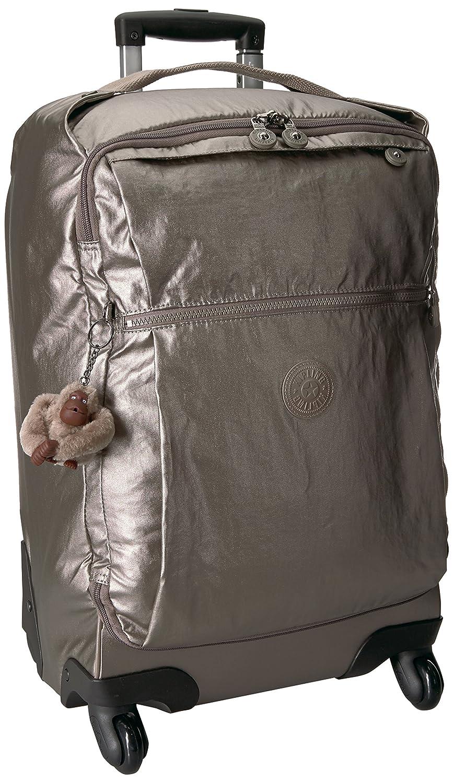 7ffd512bcc Amazon.com  Kipling Darcey Small Metallic Carry-On Rolling Luggage Metallic  Pewter  Kipling  Shoes