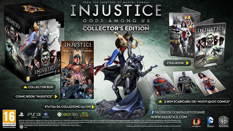 Warner Bros Injustice - Juego (PS3): Amazon.es: Videojuegos