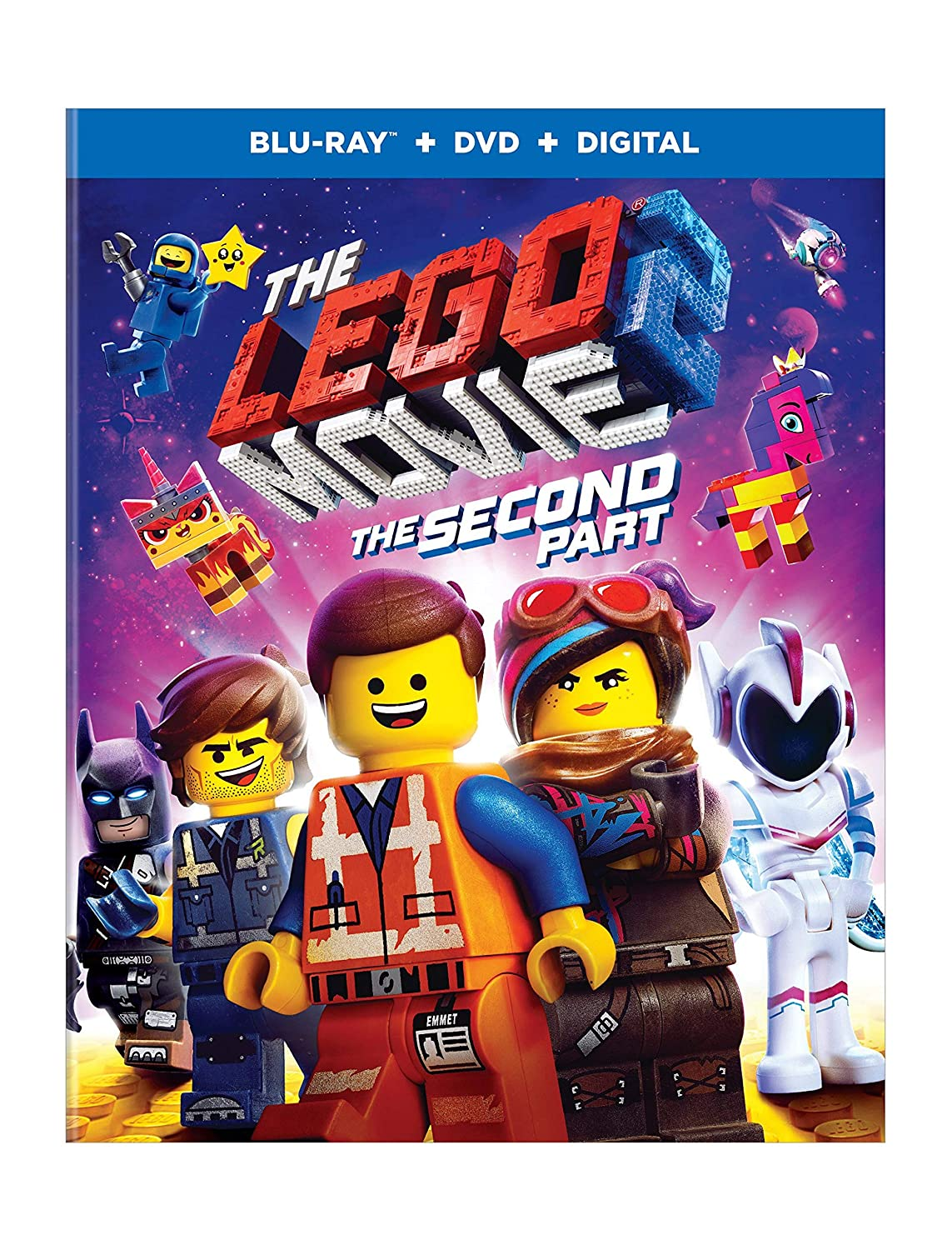 Amazoncom The Lego Movie 2 The Second Part Bd Blu Ray Dan