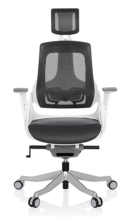 Hjh Office 640300 Chaise De Bureau Spektre Tissu De Maille Gris