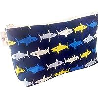 Neceser de algodón infantil - Tiburones