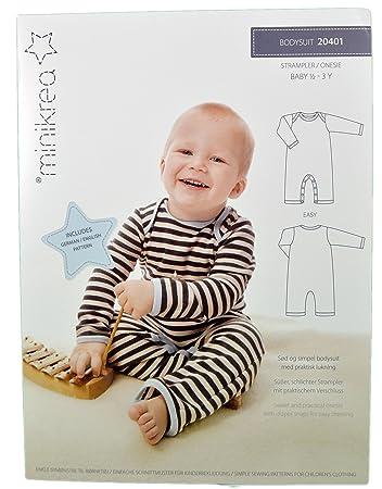 Schnittmuster Strampler für Babys & Kinder / Gr. 74-98cm / 2X0401 ...