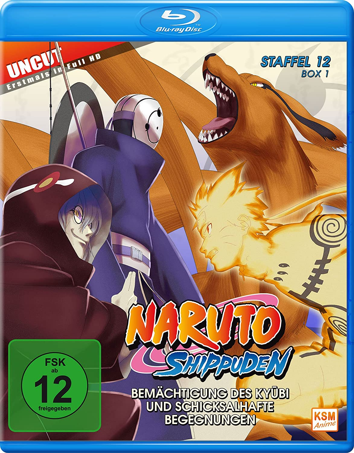 Naruto Shippuden - Staffel 12 - Box 1 Episoden 463-480 ...