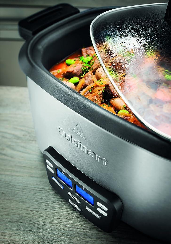 Cuisinart MSC600E Multi-cuiseur électrique 4-en-1, Dorer/Sauter ...