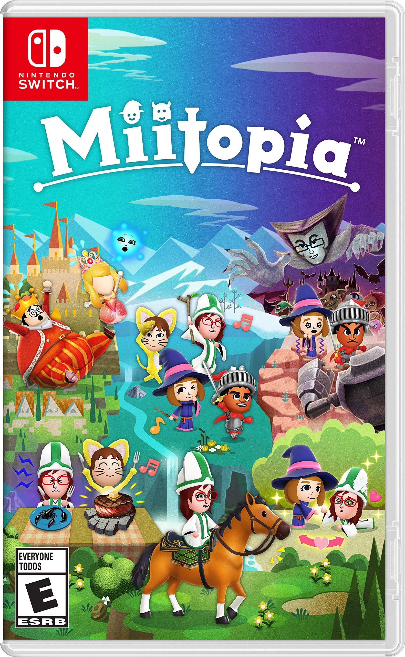 Poster. Miitopia