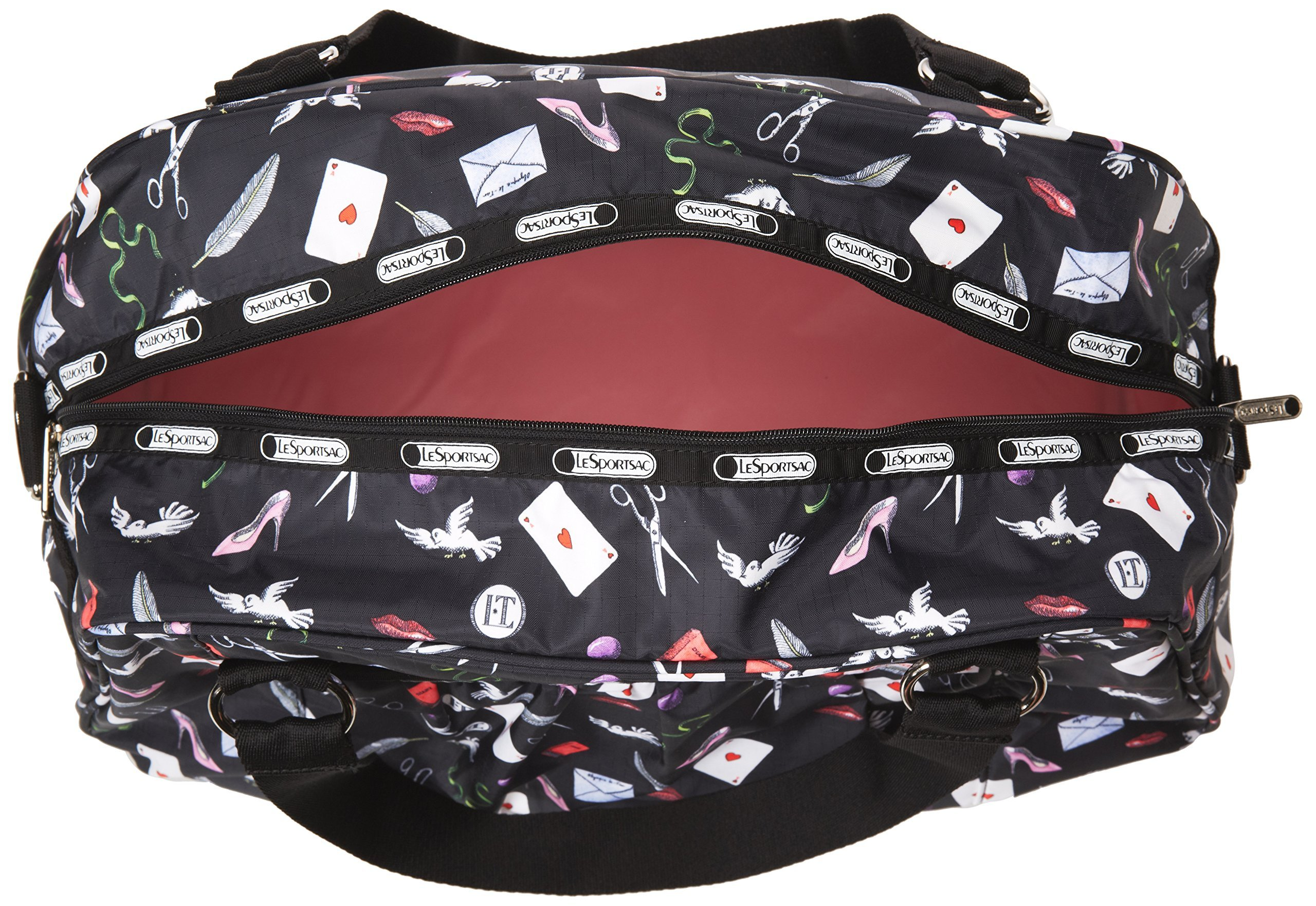 LeSportsac Abbey Carry On, Love Letters, One Size by LeSportsac (Image #5)