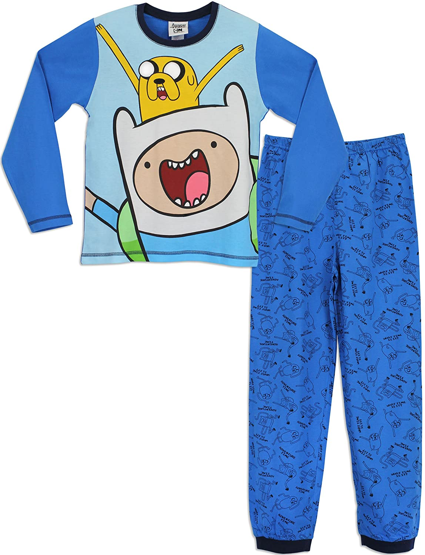Adventure Time Boys Adventure Time Pyjamas Jake and Finn Age 8 to 9 Years   Amazon.co.uk  Clothing f866e7649
