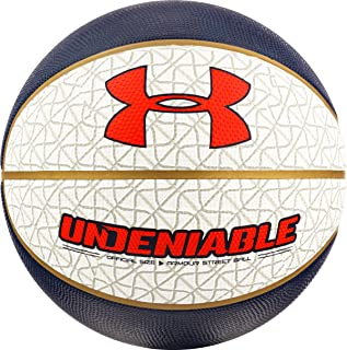Under Armour Undeniable Basket-Ball, Gris/Bleu, Taille 29,5/Taille Officielle/Taille 7 PSI 91 Inc. BB 181