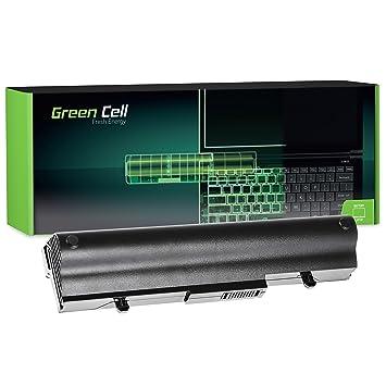 Celda verde® - Batería para ordenador portátil ASUS Eee PC R105 negro negro Extended - Green Cell Cells 6600 mAh: Amazon.es: Informática