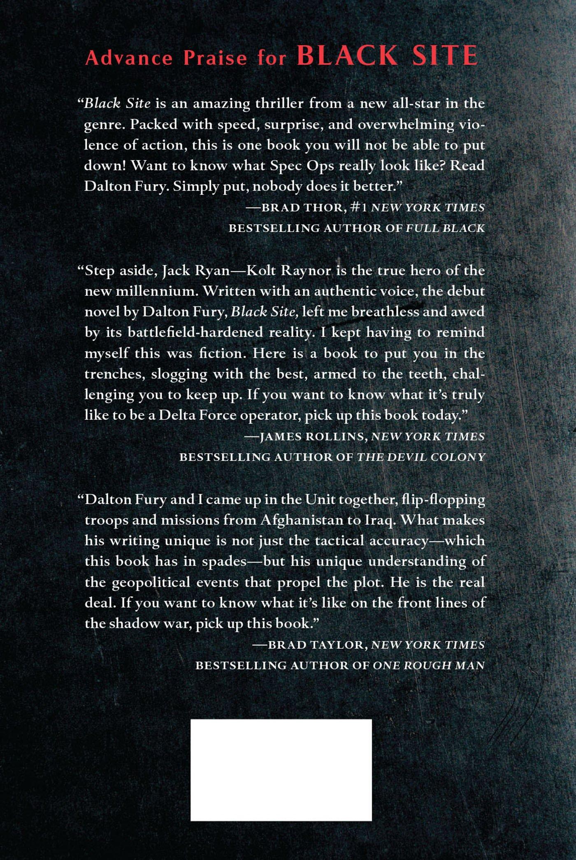 Amazon: Black Site: A Delta Force Novel (9780312668372): Dalton Fury:  Books
