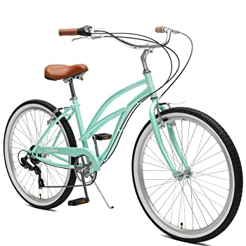 "Critical Cycles Chatham Women's 26"" Step-Thru Beach Cruiser"