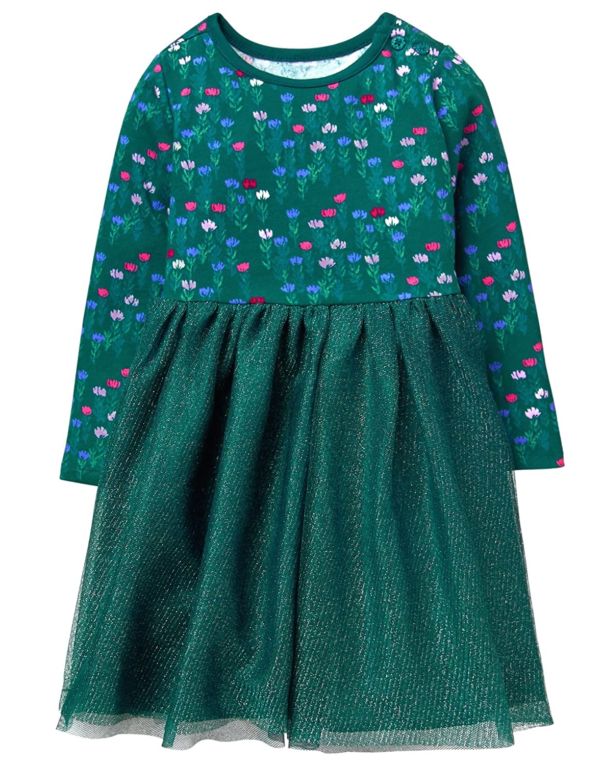 Gymboree Girls Floral Tutu Dress