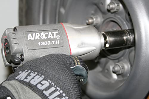 AIRCAT 1300-TH 3 8-Inch Composite Air Impact Wrench with Super Clutch Twin Hammer Mechanism