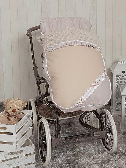 Babyline Bombón - Saco para silla de paseo, color beige
