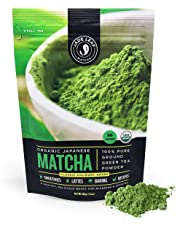 Jade Leaf - Organic Japanese Matcha Green Tea Powder, Classic Culinary Grade (for Blending & Baking) – [100g Value Size]