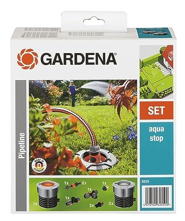 Lieblich GARDENA Start Set Für Garten Pipeline: Witterungsbeständige  Wassersteckdosen, Frostsicher Mit Wasserstop,