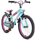 BIKESTAR Premium Sicherheits Kinderfahrrad 20 Zoll für Mädchen und Jungen ab 6 Jahre ★ 20er Kinderrad Mountainbike ★ Fahrrad für Kinder