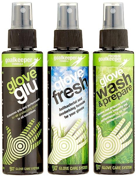 buy popular 63a2d 80fd0 Amazon.com   GloveGlu Wash 3 Bottle Pack ( 120ml each bottle)   Soccer  Goalie Gloves   Sports   Outdoors
