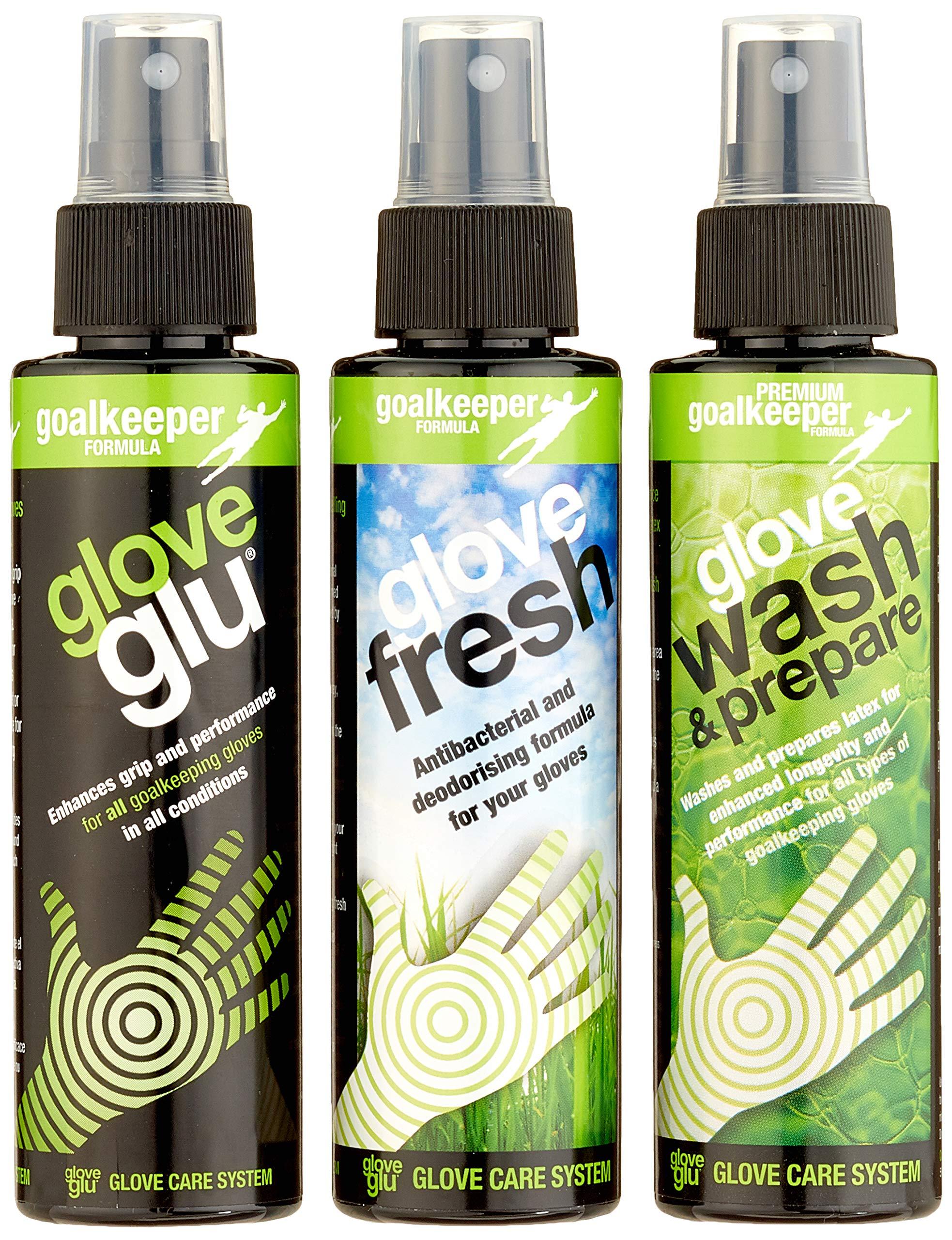 GloveGlu Wash 3 Bottle Pack ( 120ml each bottle)