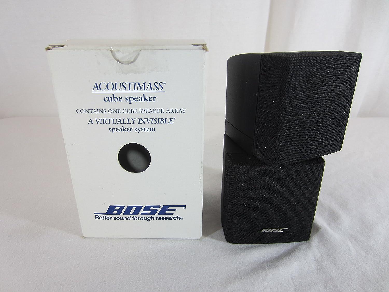 Bose Acoustimass Direct/Reflecting Speaker Black Home Audio ...