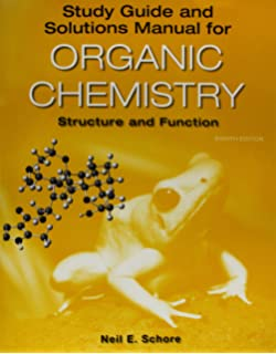 Amazon organic chemistry structure and function 9781319079451 study guidesolutions manual for organic chemistry fandeluxe Gallery