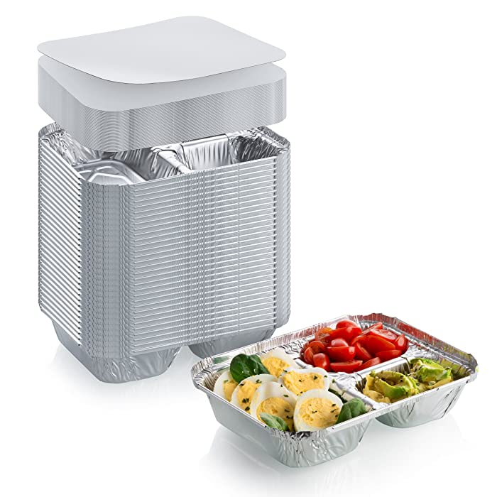 Top 10 Two Compartment Aluminum Food Container