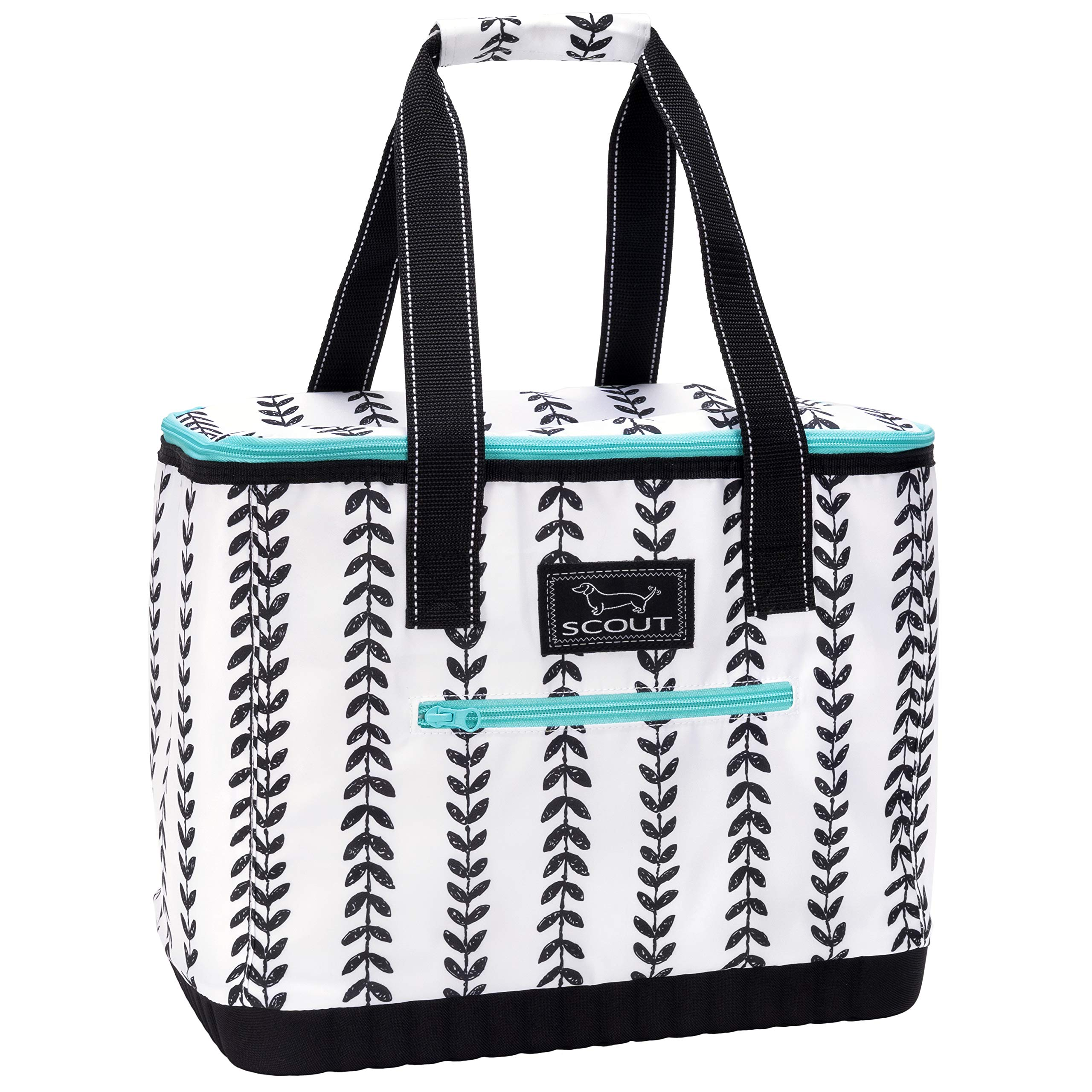 SCOUT The Stiff One Cooler Bag, Insulated Soft Cooler Bag, Leak Proof Large Picnic or Beach Cooler with Hard Bottom (Multiple Patterns Available) by SCOUT