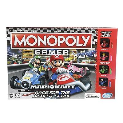 Monopoly Gamer Mario Kart: Toys & Games