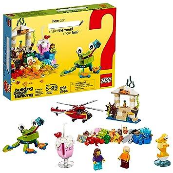 Amazon com: LEGO Classic World Fun 10403 Building Kit (295
