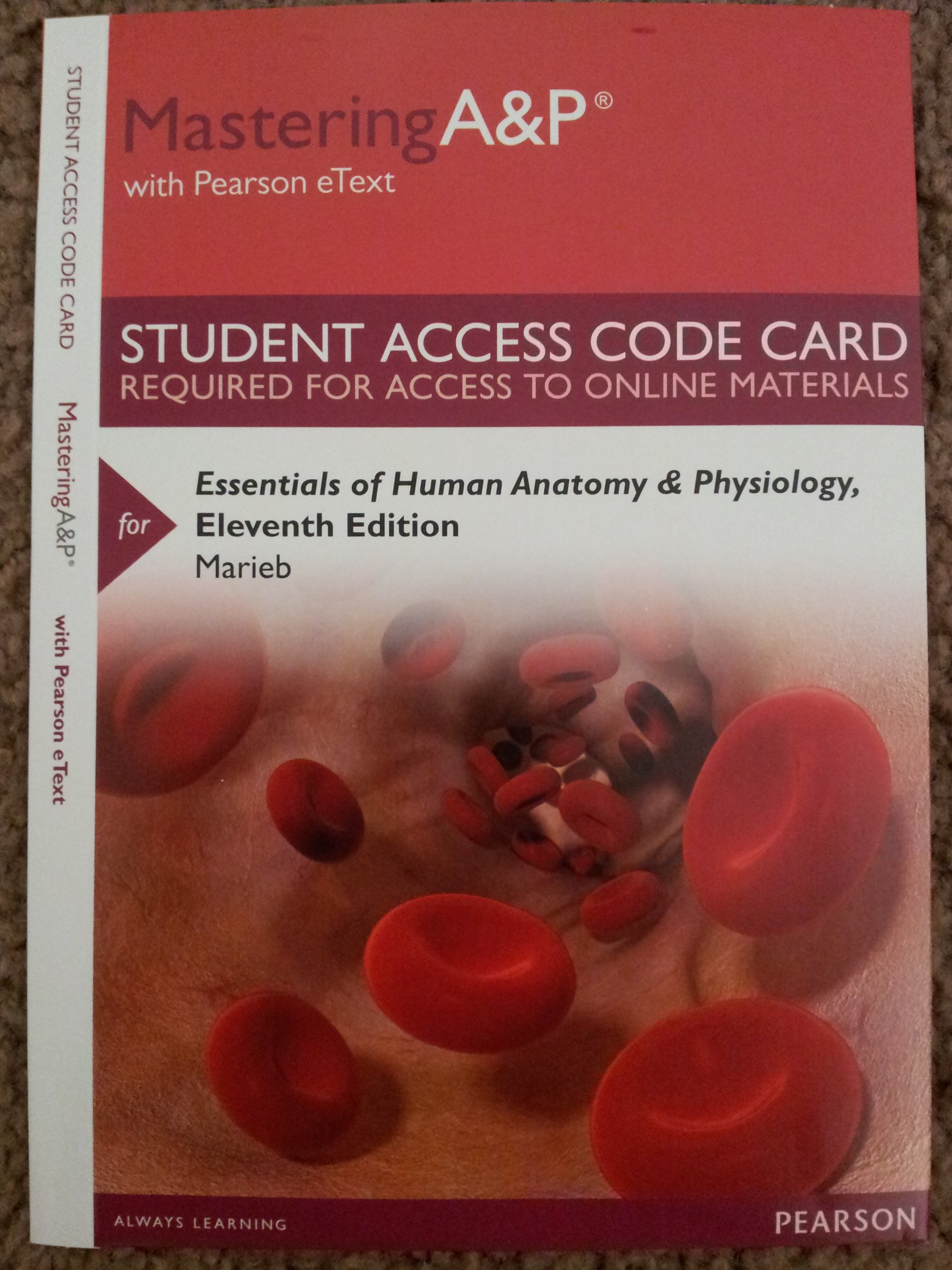 Ziemlich Human Anatomy And Physiology Marieb 9th Edition Access Code ...