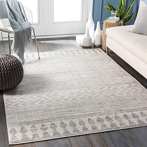 Artistic Weavers Aveline Area Rug 7 10 Square, Light Gray