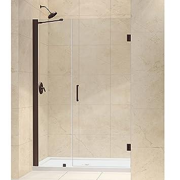 Dreamline unidoor 43 44 in width frameless hinged shower door 3 width frameless hinged shower door 3 planetlyrics Choice Image