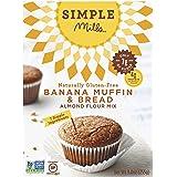 Simple Mills Almond Flour Mix, Banana Muffin & Bread, Naturally Gluten Free, 9 oz