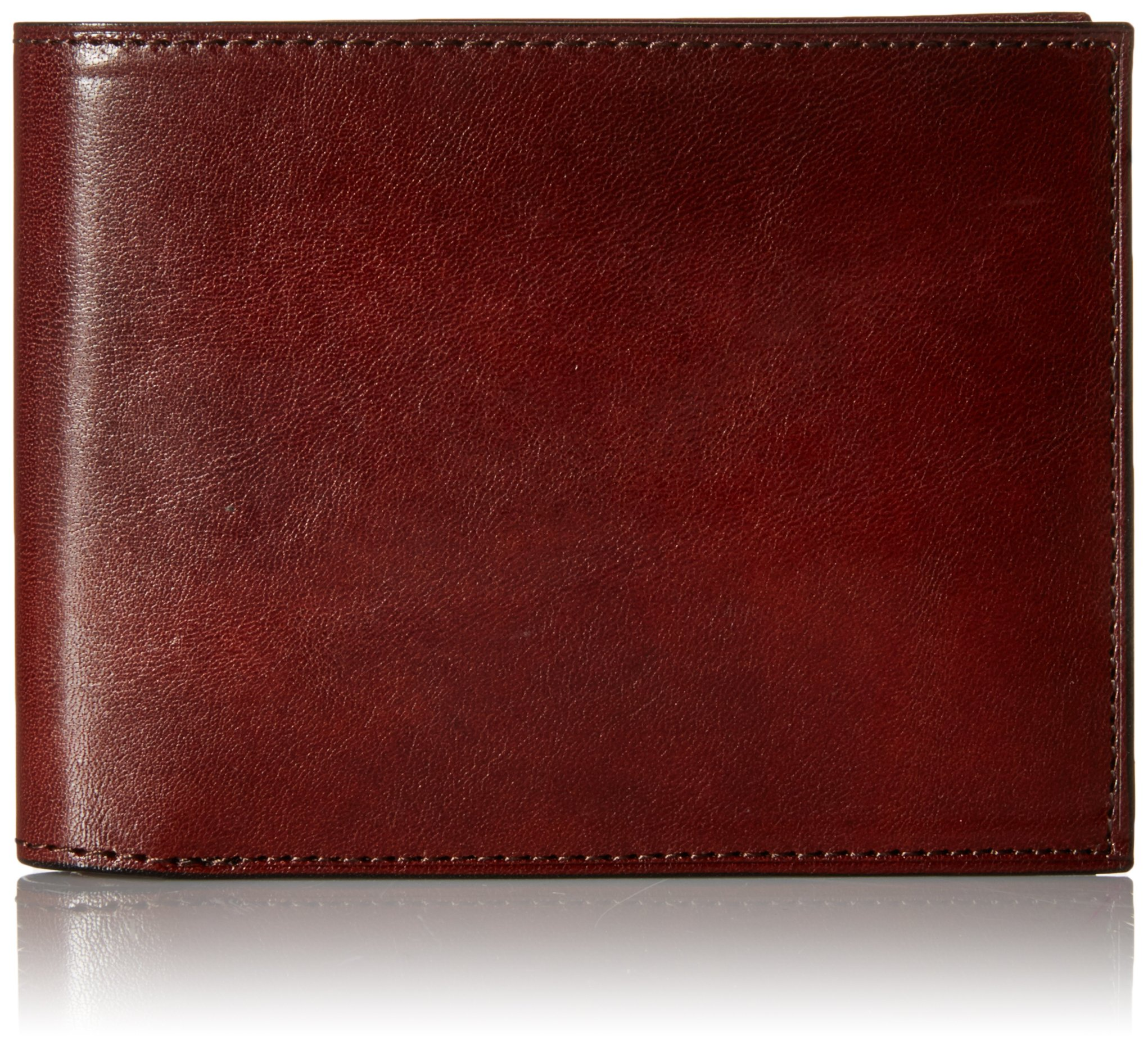 Bosca Old Leather Continental I.D. Wallet - Dark Brown