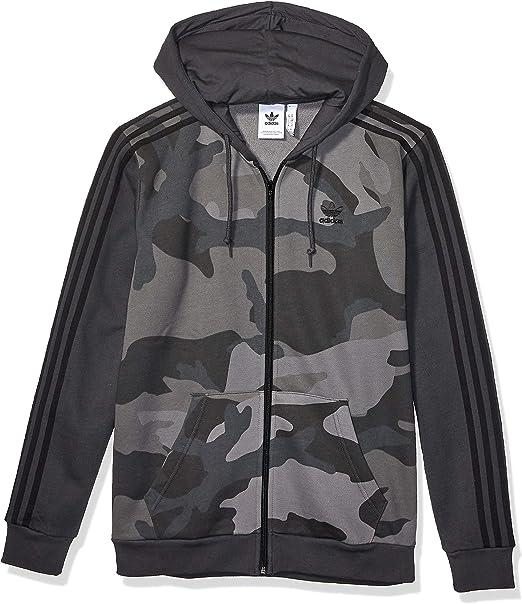 Credenziali Regolamento pistola  Adidas Originals - Felpa con cappuccio da uomo, con zip intera: Amazon.it:  Abbigliamento