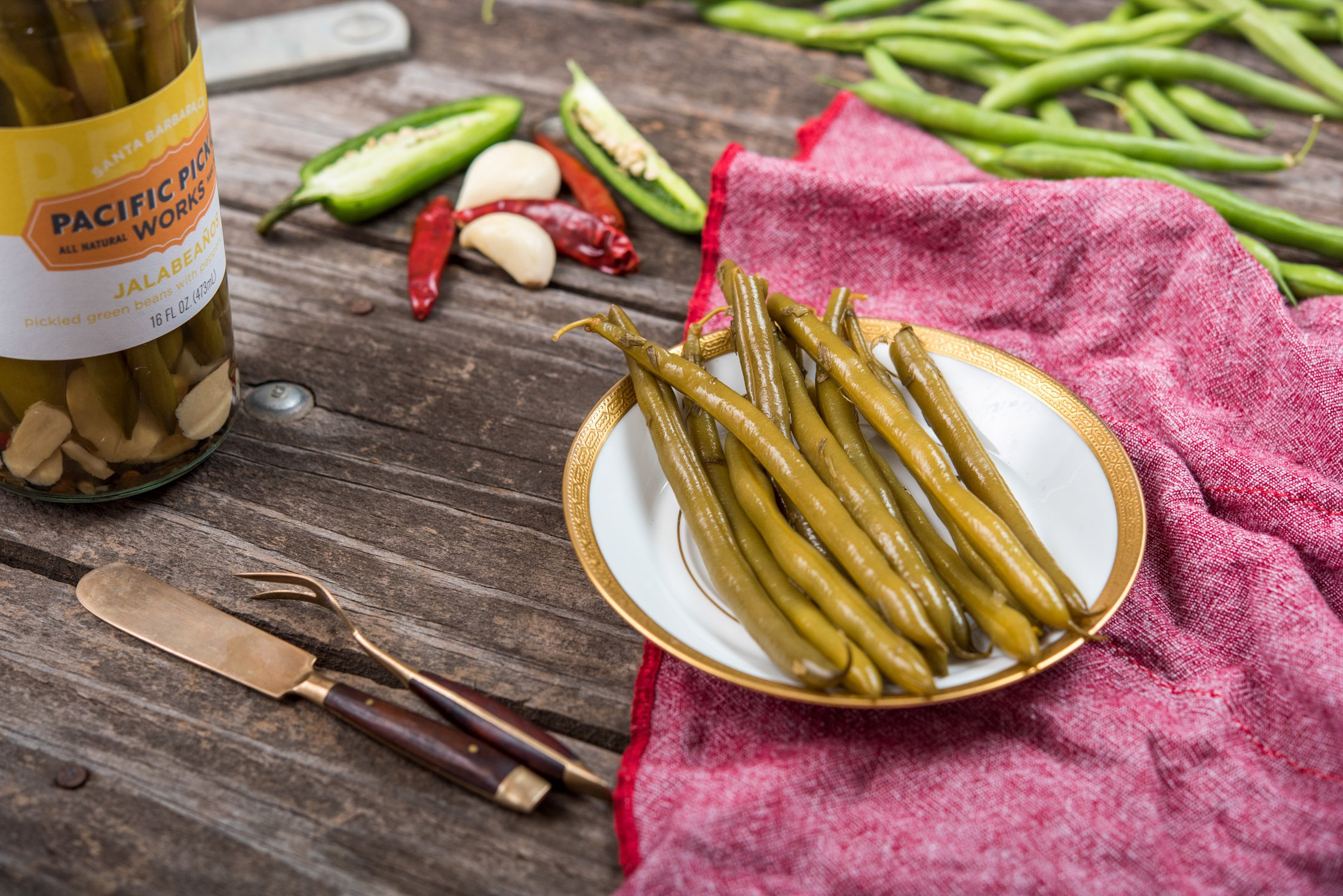 Jalabeaños (3-pack) - Spicy pickled green beans 16oz by Pacific Pickle Works (Image #4)