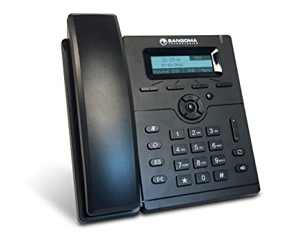 Sangoma s205 VoIP Phone with POE (or AC adapter sold separately)