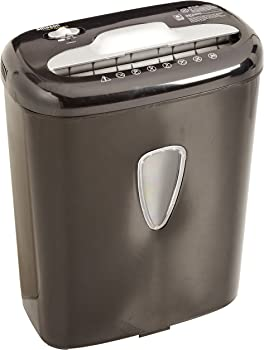 AmazonBasics 6-Sheet Micro-Cut Paper and Credit Card Shredder