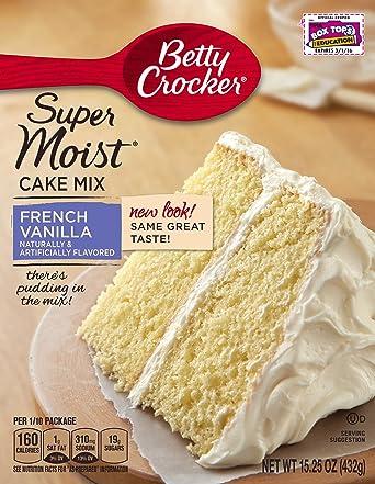 Betty Crocker Super Moist French Vanilla Cake Mix - 432 gr
