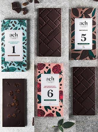 Lujoso Orgánico Chocolate vegano Conjunto 3 sabores sin azúcar chocolate con pasas y menta/chocolate
