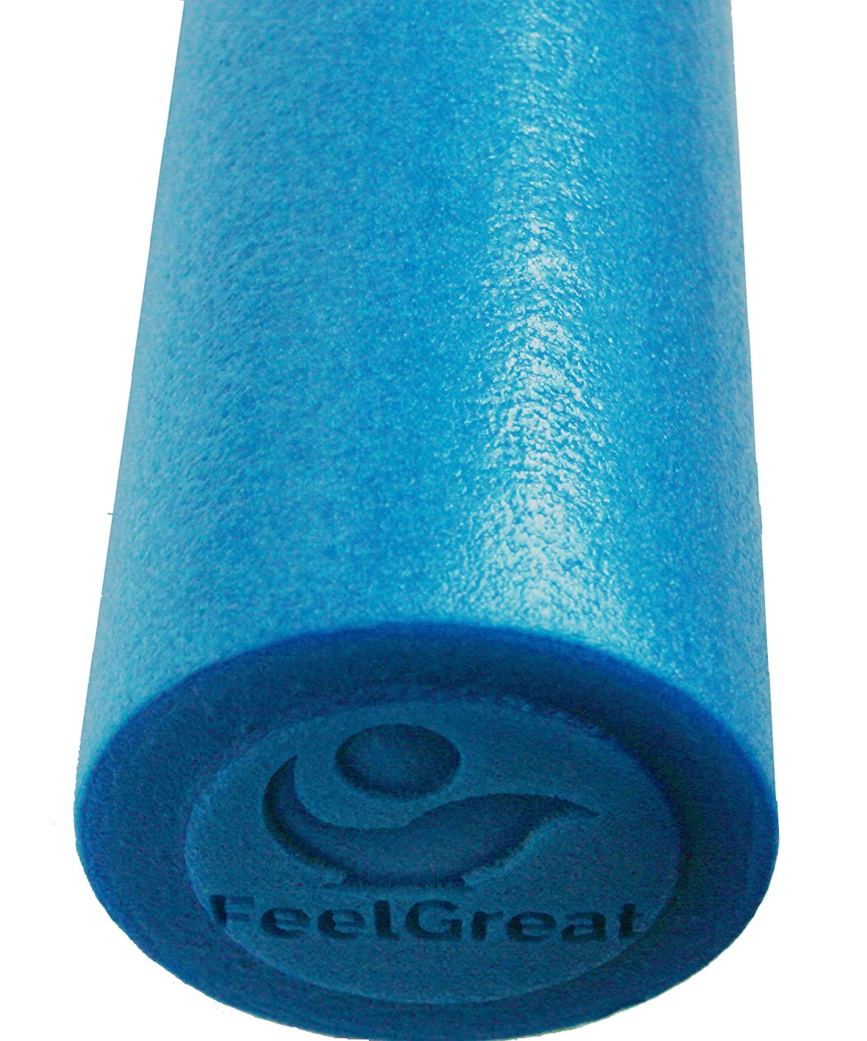 Foam Roller w High Density Firm Core by FeelGreat Physical Therapy Yoga Pilates Massage Therapy Medium Soft Exterior