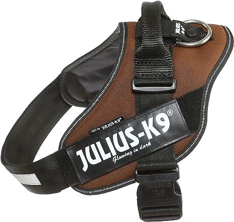 JULIUS K-9 IDC Power - Arnés con Logo, Talla 1 marrón Chocolate ...