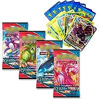 135 Cartas Pokemon Español Coleccionables Edición Espada y Escudo Tarjetas Extraoficiales JCC - Incluyen Cartas Basic…
