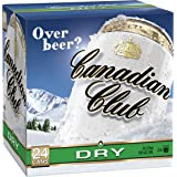 Canadian Club Whisky & Dry Cans 375ml, (Pack of 24)