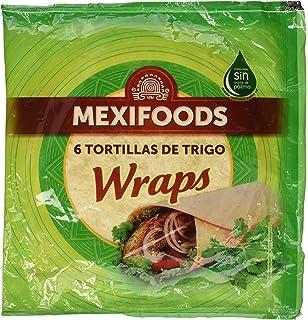 Mexifoods Tortilla Integral - 6 Paquetes de 320 gr - Total ...