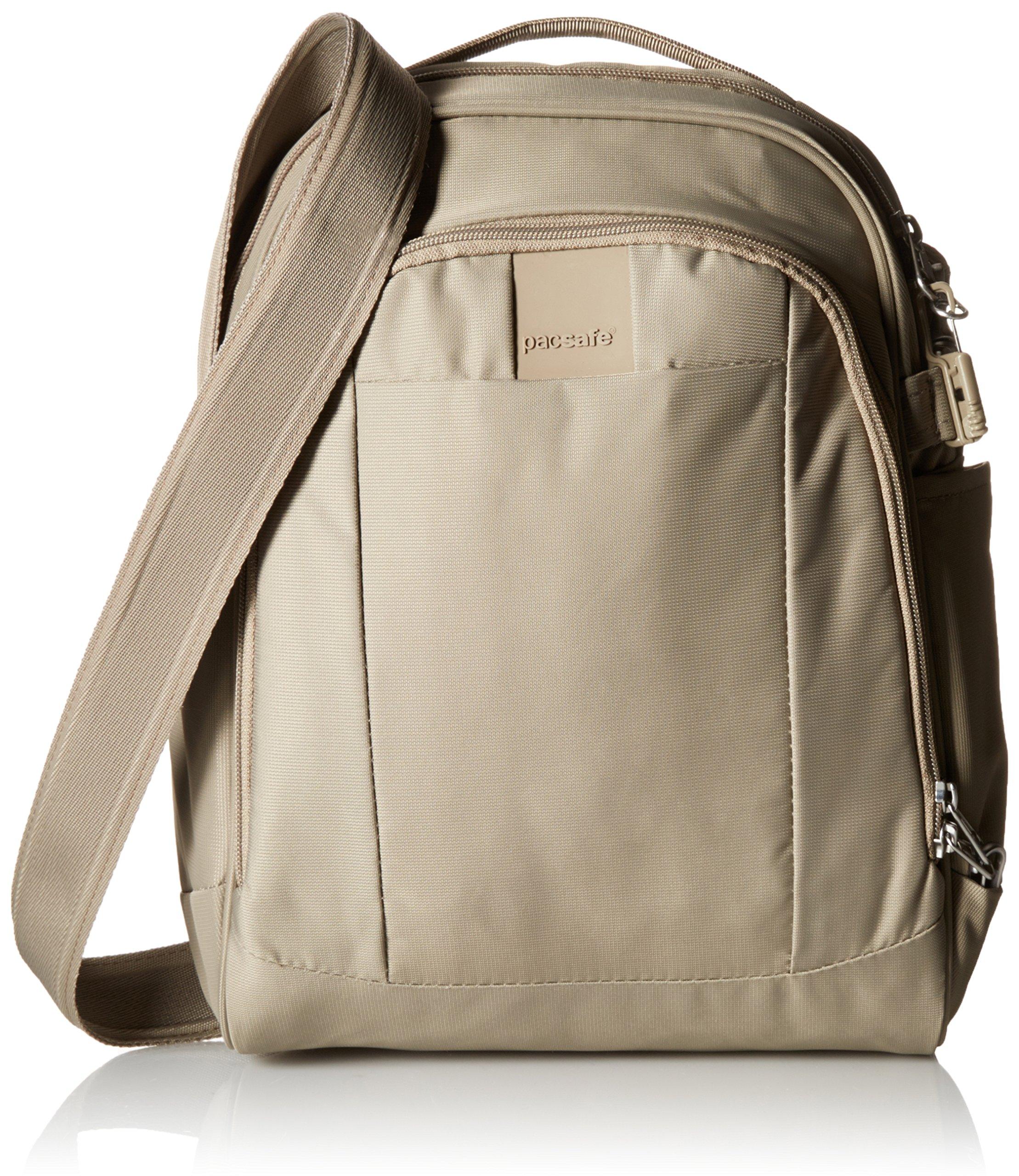 Pacsafe Metrosafe LS250 Anti-Theft Shoulder Bag, Sandstone
