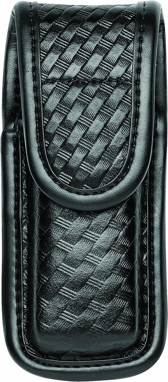 Bianchi 7903BSK Negro Single mag/Cuchillo de Piel con Ocultos (tamaño 4)